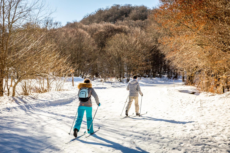 Ski de fond sur le domaine du Haut Cantal Puy Mary