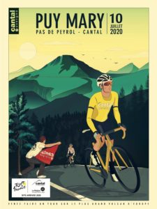 Affiche Tour de France 2020