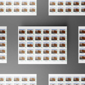 Planche 30 timbres