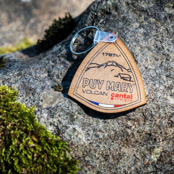 Porte-clés bois naturel