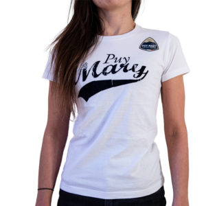 T-shirt couleur blanc Puy Mary