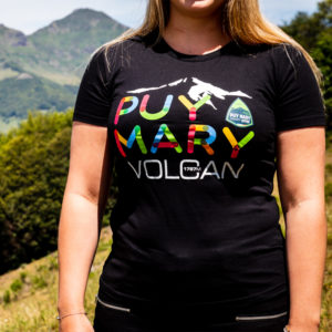 T-shirt Puy Mary noir