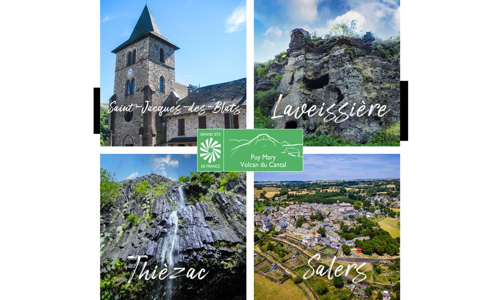 Nouvelles communes du Grand Site de France Puy Mary - Volcan du Cantal