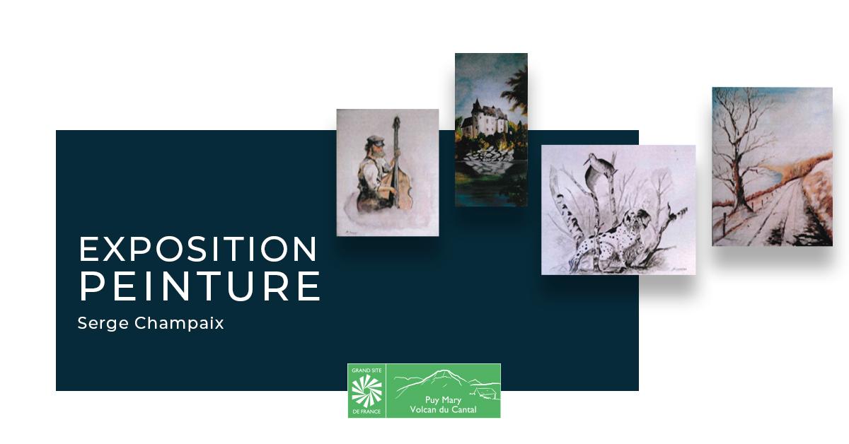 Exposition Serge Champaix