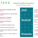 Programme animations 2 au 8 août