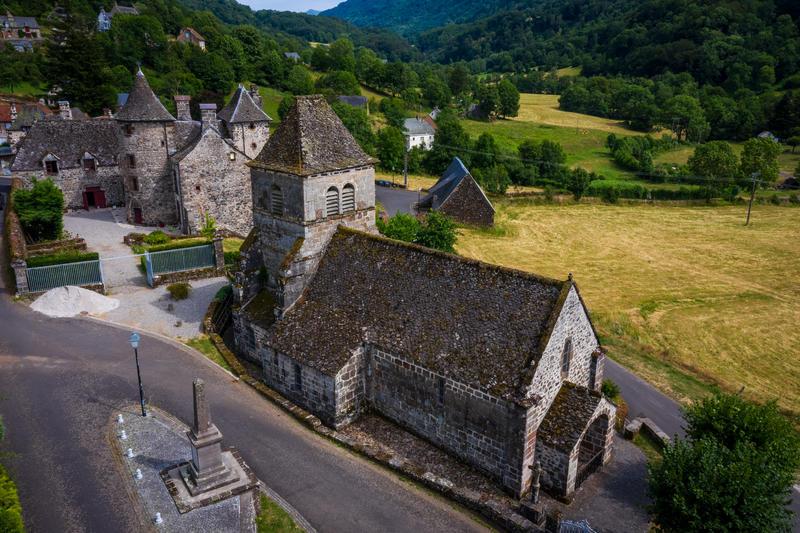 Eglise de Saint-Vincent-de-Salers